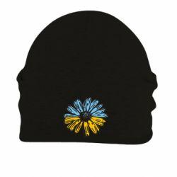Шапка на флісі Українська квітка