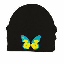 Шапка на флисе Український метелик - FatLine