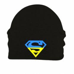 Шапка на флисе Український Superman - FatLine