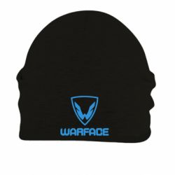 Шапка на флисе Warface Logo
