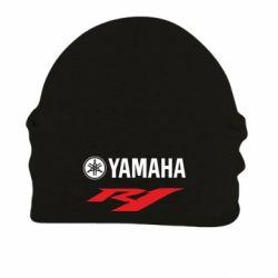 Шапка на флисе Yamaha R1 - FatLine