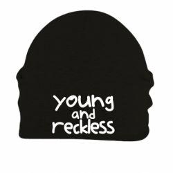 Шапка на флісі Young and Reckless