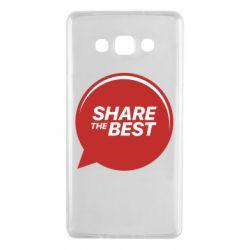 Чехол для Samsung A7 2015 Share the best