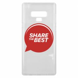 Чехол для Samsung Note 9 Share the best