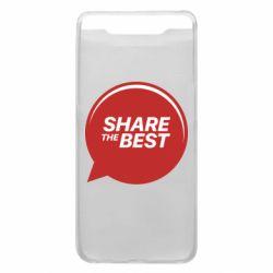 Чехол для Samsung A80 Share the best