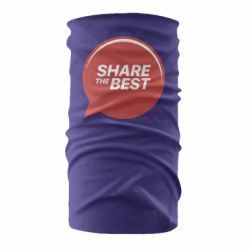 Бандана-труба Share the best