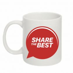Кружка 320ml Share the best