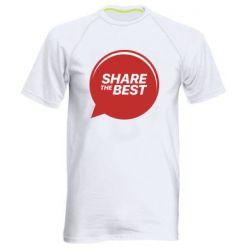 Мужская спортивная футболка Share the best