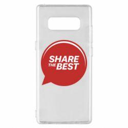 Чехол для Samsung Note 8 Share the best