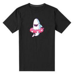 Мужская стрейчевая футболка Shark and Lifebuoy