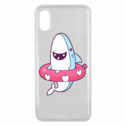 Чехол для Xiaomi Mi8 Pro Shark and Lifebuoy