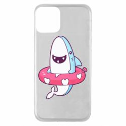 Чохол для iPhone 11 Shark and Lifebuoy