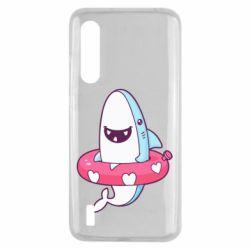 Чехол для Xiaomi Mi9 Lite Shark and Lifebuoy