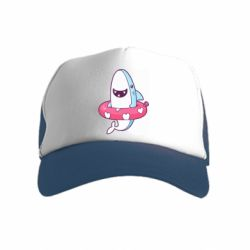Детская кепка-тракер Shark and Lifebuoy