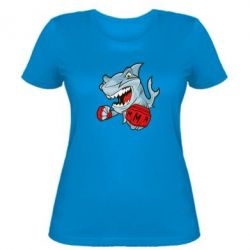 Женская футболка Shark MMA - FatLine