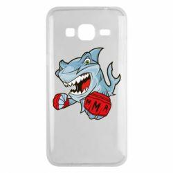 Чохол для Samsung J3 2016 Shark MMA