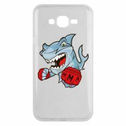 Чохол для Samsung J7 2015 Shark MMA