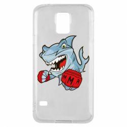 Чохол для Samsung S5 Shark MMA