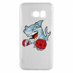 Чохол для Samsung S6 EDGE Shark MMA
