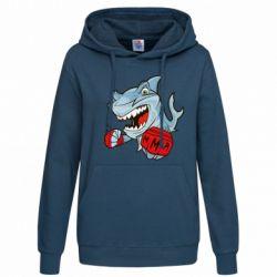 Женская толстовка Shark MMA - FatLine