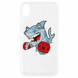 Чохол для iPhone XR Shark MMA