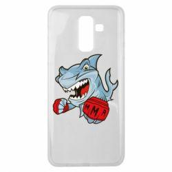 Чохол для Samsung J8 2018 Shark MMA