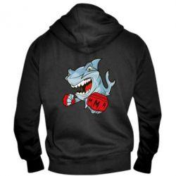 Мужская толстовка на молнии Shark MMA - FatLine
