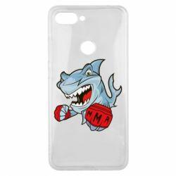 Чохол для Xiaomi Mi8 Lite Shark MMA
