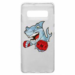 Чохол для Samsung S10+ Shark MMA