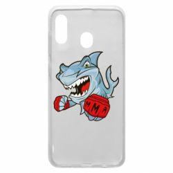 Чохол для Samsung A20 Shark MMA