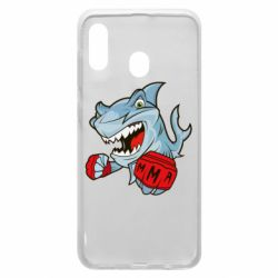 Чохол для Samsung A30 Shark MMA