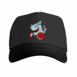 Кепка-тракер Shark MMA