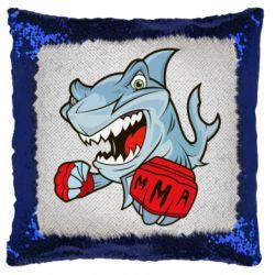 Подушка-хамелеон Shark MMA