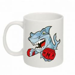 Кружка 320ml Shark MMA