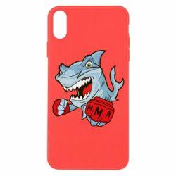 Чохол для iPhone X/Xs Shark MMA