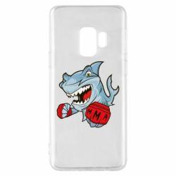 Чохол для Samsung S9 Shark MMA