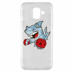 Чохол для Samsung A6 2018 Shark MMA