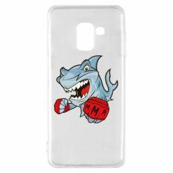 Чохол для Samsung A8 2018 Shark MMA