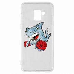 Чохол для Samsung A8+ 2018 Shark MMA
