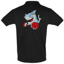 Футболка Поло Shark MMA - FatLine