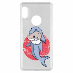 Чехол для Xiaomi Redmi Note 5 Shark or dolphin
