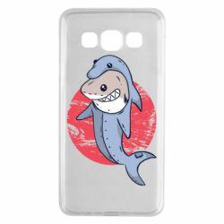 Чехол для Samsung A3 2015 Shark or dolphin