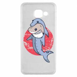 Чехол для Samsung A3 2016 Shark or dolphin