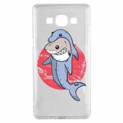 Чехол для Samsung A5 2015 Shark or dolphin