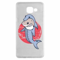 Чехол для Samsung A5 2016 Shark or dolphin