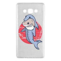 Чехол для Samsung A7 2015 Shark or dolphin