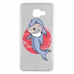 Чехол для Samsung A7 2016 Shark or dolphin