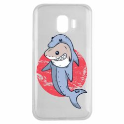 Чехол для Samsung J2 2018 Shark or dolphin