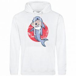 Мужская толстовка Shark or dolphin