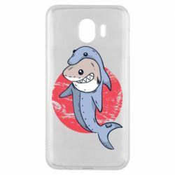 Чехол для Samsung J4 Shark or dolphin